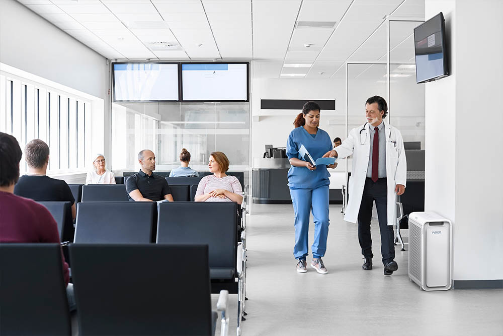 Waiting room and Healthcare facilities